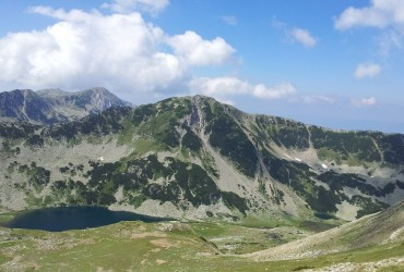 A view from the Pirin Mountain by Dimiter Georgiev
